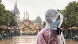FOTO: 'Hantu' Coronavirus di Shanghai Disney Resort