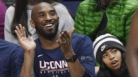 Kemesraan Kobe Bryant-Gianna Sebelum Meninggal