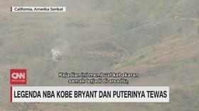 VIDEO: Ini Lokasi Jatuhnya Helikopter Kobe Bryant