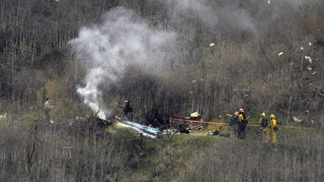 Fakta Baru Kecelakaan Helikopter Kobe Bryant