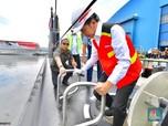 Prabowo & Luhut Kawal Jokowi di Atas Kapal Selam Made in RI