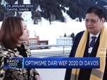 Menko Airlangga Bawa Optimisme dari Ajang WEF Davos 2020