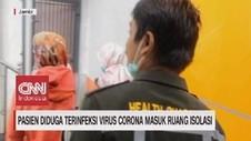 VIDEO: Diduga Terinfeksi Virus Corona, Pasien Diisolasi