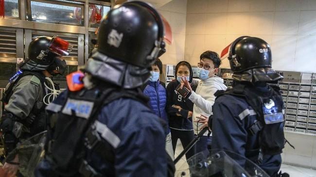 Pemerintah berencana 'menyulap' bangunan perumahan di Ming Estate, Fanling menjadi zona karantina dan observasi sementara warga yang terinfeksi virus corona. (Philip FONG/AFP)