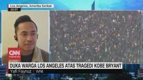 VIDEO: Duka Warga LA Atas Tragedi Kobe Bryant