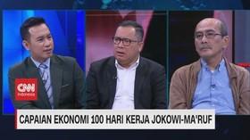 VIDEO: Capaian Ekonomi 100 Hari Kerja Jokowi-Ma'ruf (1/3)