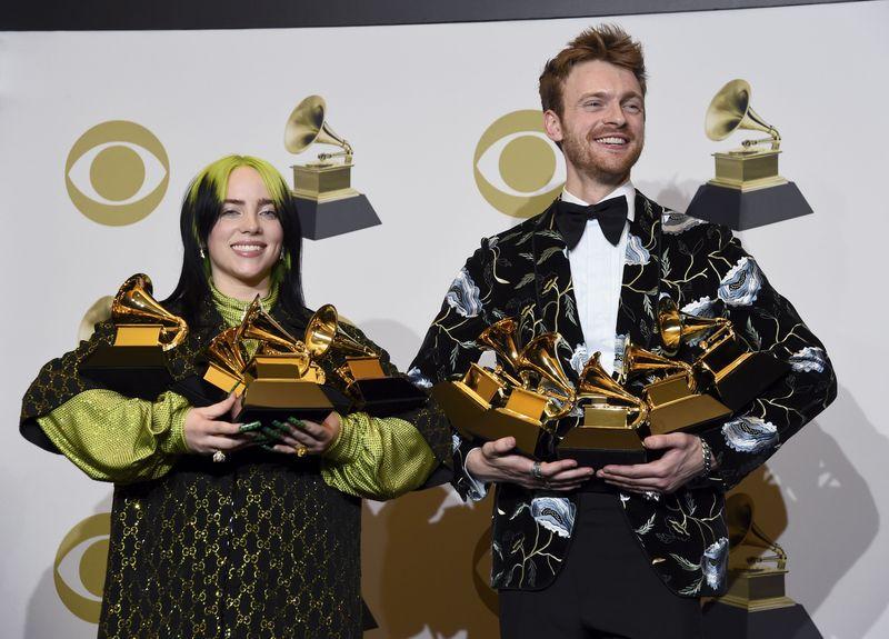 Kobe Billie Elish Dan Bts Di Grammy Awards 2020 Foto 5