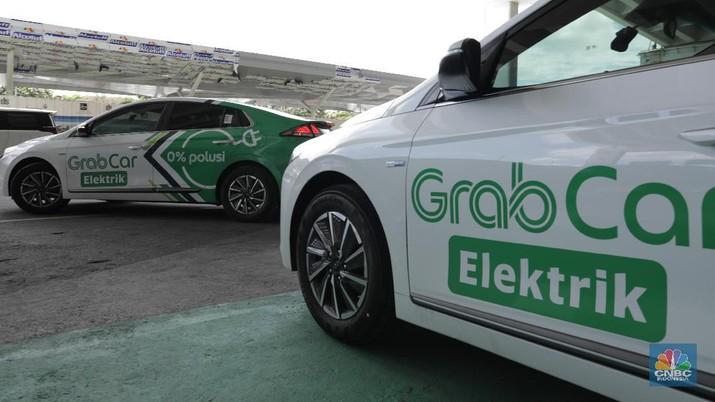 Grab Indonesia menargetkan 500 unit mobil listrik bakal mengaspal di jalanan Jakarta hingga akhir 2020.