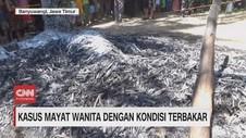 VIDEO: Geger Penemuan Mayat Wanita Terbakar
