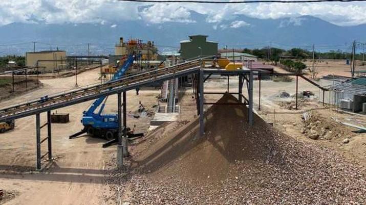 Bumi Resources Minerals memulai Uji Coba Produksi dari Tambang Emasnya di Poboya, Palu (Dok. Bumi Resources Minerals)