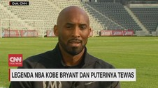 VIDEO: Legenda NBA Kobe Bryant Tewas, Dunia Olah Raga Berduka