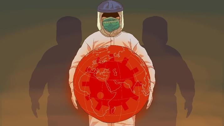 Infografis: Sulit Dikendalikan, Virus Corona Sudah Menyebar di 13 Negara