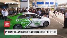 VIDEO: Grab Luncurkan Mobil Taksi Online Elektrik