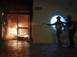 Tolak Karantina Corona, Warga Hong Kong Lempar Bom Molotov