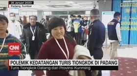 VIDEO: Kontroversi Kedatangan Turis Tiongkok di Padang