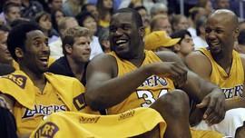 Kobe Bryant dan O'Neal, Duo Lakers Berujung Tiga Cincin Juara