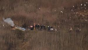 Semua Jasad Kecelakaan Helikopter Kobe Bryant Dievakuasi