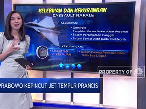 Prabowo Kepincut Jet Tempur Rafale Asal Perancis