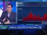 Pasar Khawatir dengan Virus Corona, IHSG Amblas Hingga 1,78%