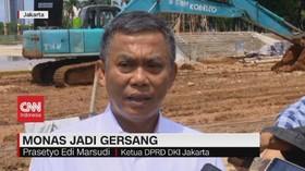 VIDEO: Ketua DPRD DKI: Revitalisasi Monas Salah Aturan