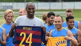 Kesedihan Dunia Sepak Bola untuk Kobe Bryant