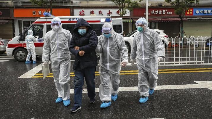 Bursa saham China hancur pada hari ini, karena investor khawatir akan penyebaran virus corona.