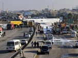 Begini Penampakan Pesawat Iran yang Seruduk Jalan Raya