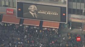 VIDEO: Fans Berkumpul Mengenang Kobe Bryant