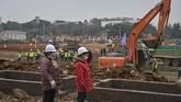 Rumah sakit ini bakal diberi nama Wuhan Huoshenshan dan diisi dengan 1.000 tempat tidur.(STR/AFP)