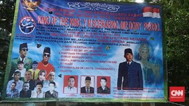Polisi Periksa Pemasang Spanduk King of The King di Tangerang