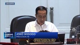Jokowi 'Gemas' Inklusi Keuangan RI Masih Kalah