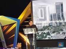 Erick Thohir Ungkap Fokus Bisnis Telkom & 'Robot AI' di BUMN