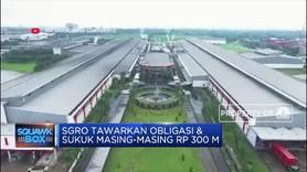 SGRO Tawarkan Obligasi & Sukuk Masing-Masing Rp 300 M