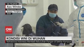 VIDEO: Mahasiswa Indonesia di Wuhan TIdak Diisolasi
