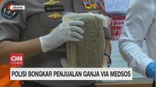 VIDEO: Polisi Bongkar Penjualan Ganja Melalui Sosmed