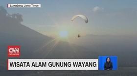VIDEO: Menikmati Keindahan Wisata Alam Gunung Wayang