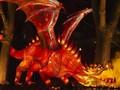 FOTO: Gemerlap Peri dan Naga di Festival Magic Light Worlds