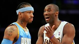 Iverson: Kobe Bryant Adalah Rival Sekaligus Saudara Saya