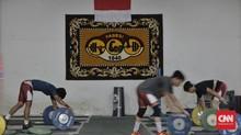 FOTO: Tim Angkat Besi Indonesia Bersiap Menuju Olimpiade
