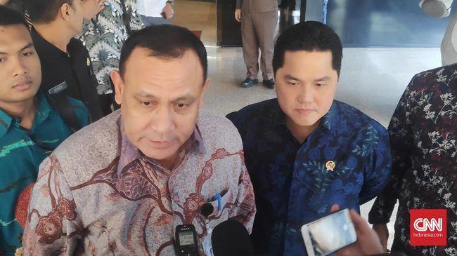 Ketua KPK 'Jemput' Erick Thohir Bahas Korupsi di BUMN