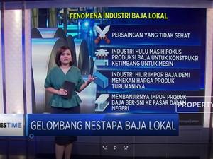 Gelombang Nestapa Industri Baja Lokal