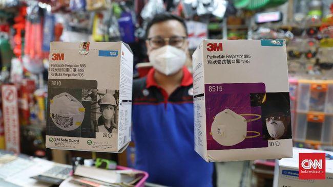 Alternatif Masker Selain N95 Guna Tangkal Virus Corona