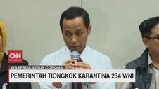 VIDEO: Waspada Corona, Pemerintah Tiongkok Karantina 234 WNI