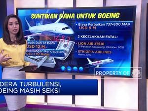 Didera Turbulensi Boeing Masih Seksi