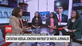 VIDEO: 100 Hari Kinerja Jokowi-Ma'ruf di Mata Koresponden