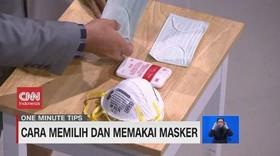 VIDEO: Cara Memilih Dan Memakai Masker