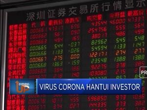 Investor Saham Panik Dihantui Virus Corona