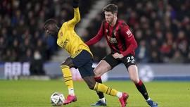 Hasil Piala FA: Arsenal Menang Tipis atas Bournemouth