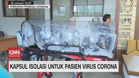 VIDEO: Kapsul Isolasi untuk Pasien Virus Corona