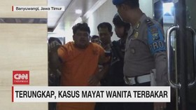 VIDEO: Tampang Pelaku Pembunuhan Mayat Wanita Terbakar